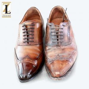 восстановление мужской обуви