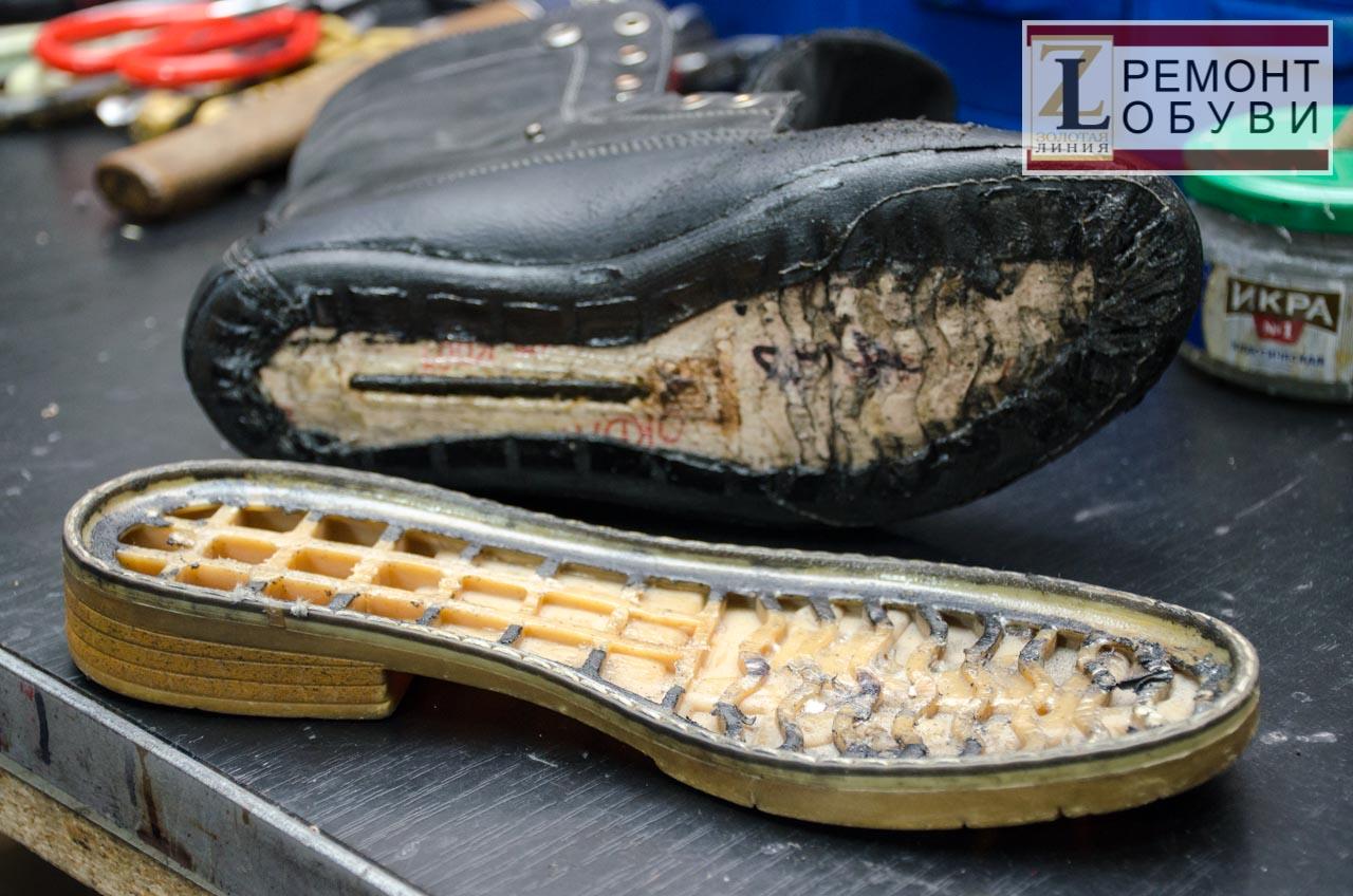 проклейка обуви прессом